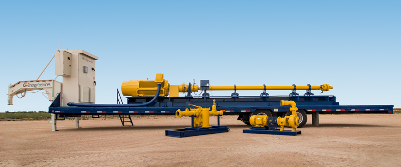 GR horizontal pumping system